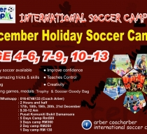 Holiday Soccer Camp December 17-21st 2018